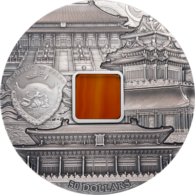Palau - 2018 - 50 Dollars - Forbidden City 1 KILO Edition