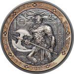 Palau - 2016 - 10 Dollars - Mythical Creatures: Minotaur