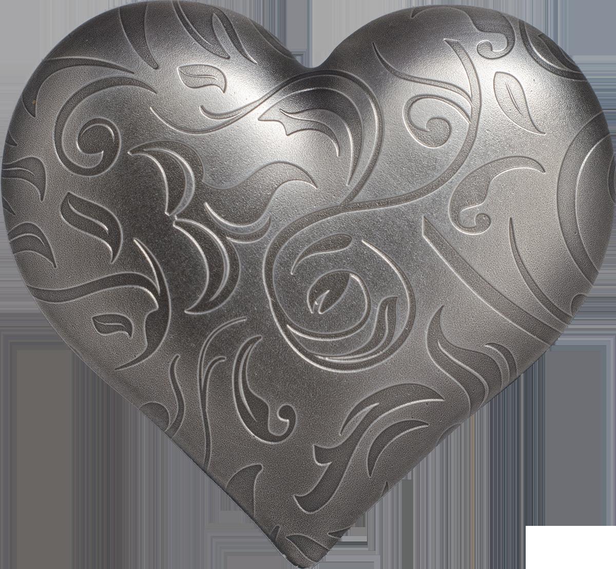 Palau - 2018 - 5 Dollars - Silver Heart