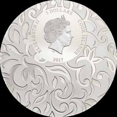 Cook Islands - 2017 - 3x 5 Dollars - Secret Riddle – Scarab Selection III