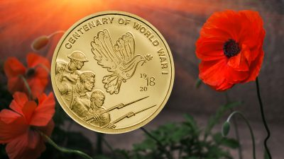 Cook Islands - 2018 - 5 Dollars - Centenary of World War I