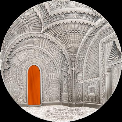 Palau - 2018 - 50 Dollars - Tiffany Art Castle of Sammezzano Kilo Version
