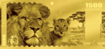 Tanzania - 2018 - 1500 Shillings - Big Five: Lion