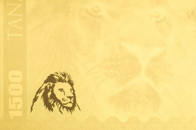 Tanzania - 2018 - 1500 Shillings - Big Five: Lion