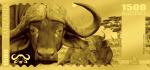 Tanzania - 2018 - 1500 Shillings - Big Five: Buffalo