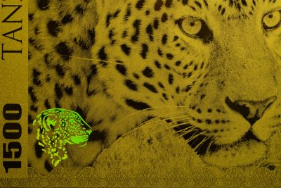 Tanzania - 2018 - 1500 Shillings - Big Five: Leopard