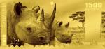 Tanzania - 2018 - 1500 Shillings - Big Five: Rhino