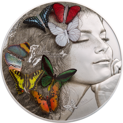 Palau - 2018 - 20 Dollars - Exotic Butterflies Dream Edition
