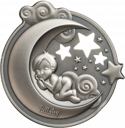 Cook Islands - 2018 - 5 Dollars - Lullaby Dreaming Boy