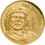 Mongolia - 2018 - 1000 Togrog - Che Guevara (small gold)