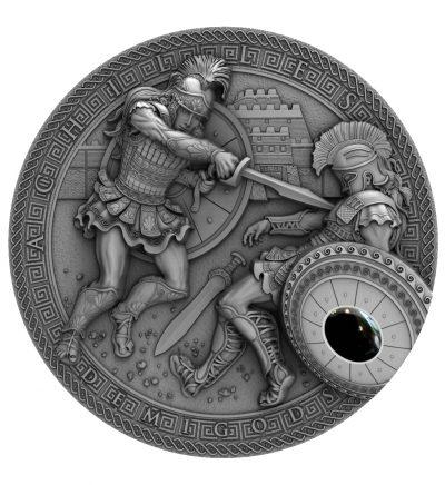 Niue - 2017 - 2 Dollars - Demigods Achilles