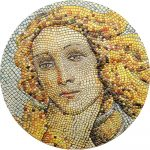 Palau - 2018 - 20 Dollars - Birth of Venus Micromosaic Passion
