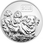 Tokelau - 2018 - 5 Dollars - Dog Family Lunar year of the Dog