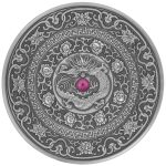 Fiji - 2017 - 10 Dollars - Mandala Art III Chinese Dragon