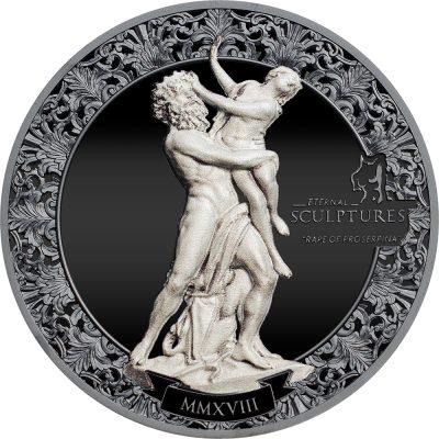Palau - 2018 - 10 Dollars - Eternal Sculptures Rape of Proserpina