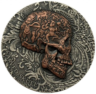Cameroon - 2017 - 1000 Francs - Carved Skull