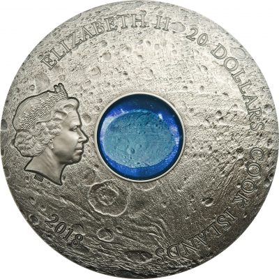 Cook Islands - 2018 - 3x 20 Dollars - Meteorite VESTA the largest astroid