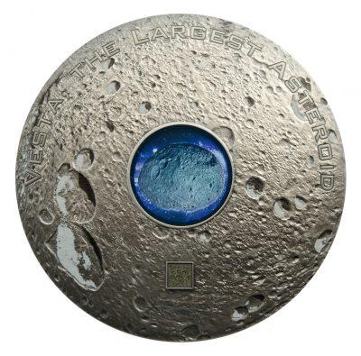 Cook Islands - 2018 - 3x 20 Dollars - Meteorite VESTA the largest astroid