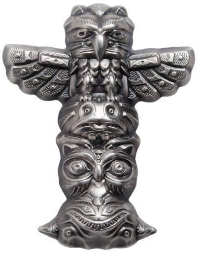 Palau - 2018 - 10 Dollars - Totem Pole shaped coin