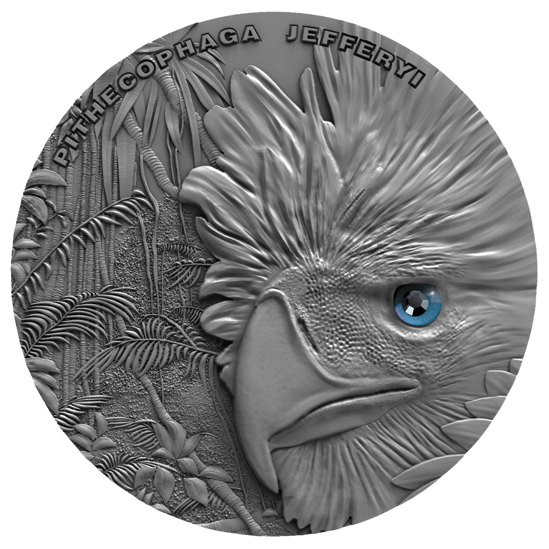 Niue - 2018 - 2 Dollars - Sky Hunters Philippine Eagle
