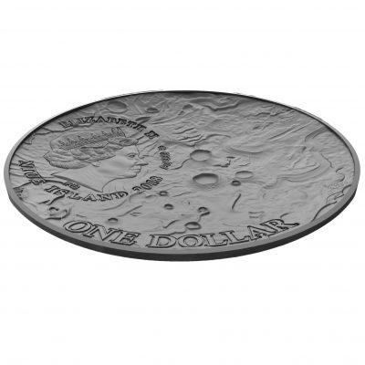 Niue - 2018 - 1 Dollar - Vesta Meteorite