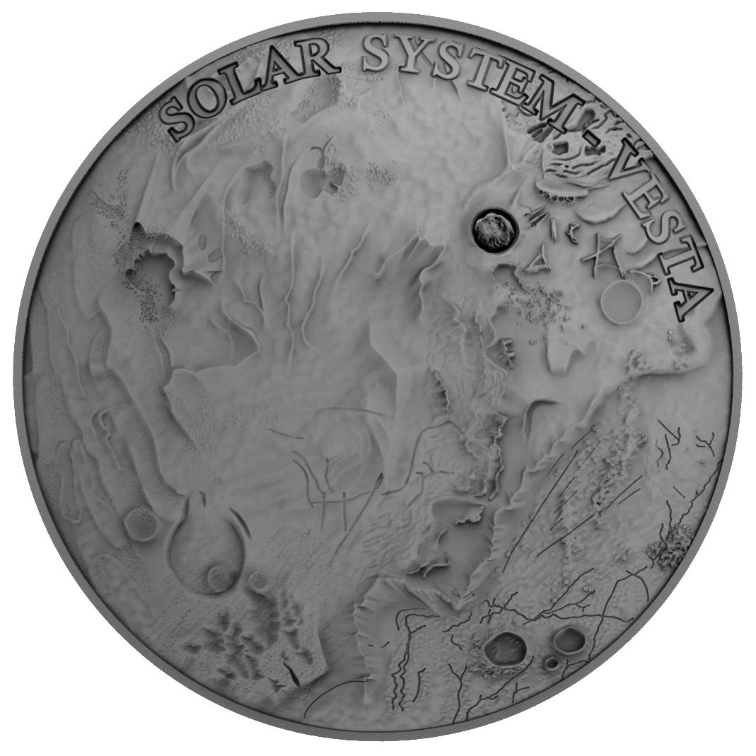 Niue 2018 1 Dollar Vesta Meteorite Numiscollect