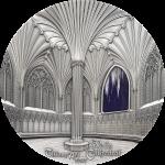 Palau - 2017 - 50 Dollars - Tiffany Art Wells Cathedral