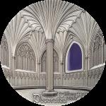 Palau - 2017 - 10 Dollars - Tiffany Art Wells Cathedral 2oz version