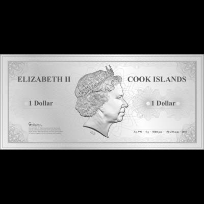 Cook Islands - 2017 - 1 Dollar - Skyline Dollar SYDNEY