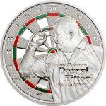 Cook Islands - 2014 - 1 Dollar - Famous Darters DARRYL FITTON (PROOF)