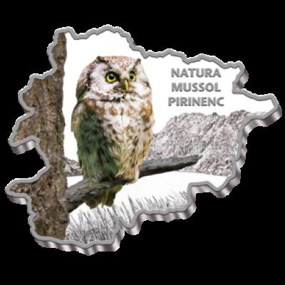 Andorra - 2013 - 10 Dinar -  Nature Treasures OWL (PROOF)