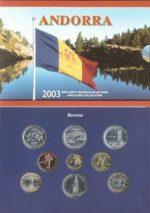 Andorra - 2003 - Official BU Set (BU)