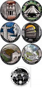 Andorra - 2009 - 7 x 10 Diners - Wonders of the World (BU)