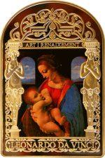 Andorra - 2011 - 15 Dinars - Madonna Leonardo Da Vinci (PROOF)