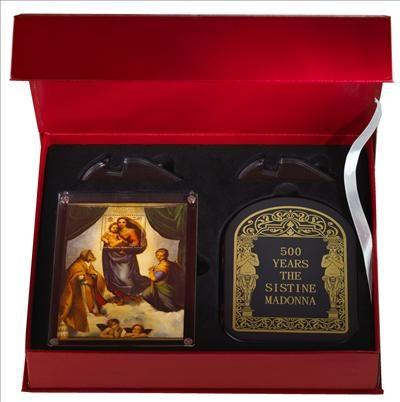 Andorra - 2012 - 100 Dinars - Madonna 500 Years Sistine Madonna by Raphael 1512/1513 (PROOF)