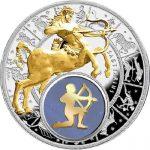 Belarus - 2013 - 20 Roubles - Zodiac Signs SAGITTARIUS (PROOF)