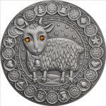 Belarus - 2009 - 20 roubles - Zodiac CAPRICORN (PROOF)