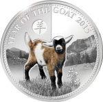 Benin - 2015 - 1000 Francs - Year of the Goat HAPTIC PRINTING (PROOF)