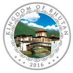 Bhutan - 2016 - 1000 Nu. - Lunar Monkey 5 oz. Silver (PROOF)