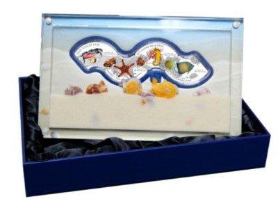 Cambodia - 2014 - 4x3000 Riels - Marine Life  (PROOF)