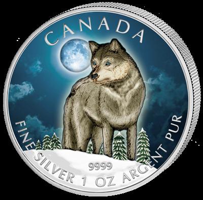 Canada - 2011 - 5 dollar - Wolf (PROOF)