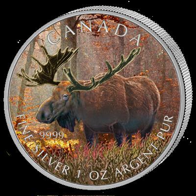 Canada - 2012 - 5 dollar - Moose (PROOF)