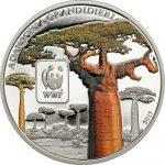 Central African Republic - 2015 - 100 Francs CFA - WWF Baobab (including box) (PROOF)