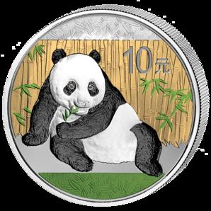 China - 2015 - 10 Yuan - Panda Colored (BU)