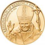 Cook Islands - 2013 - 1 dollar - Resignation of Benedict XVI  (PROOF)