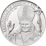 Cook Islands - 2013 - 5 dollar - Resignation of Benedict XVI  (PROOF)
