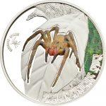 Cook Islands - 2013 - 2 dollars - Venomous Spiders BRAZILIAN WANDERING SPIDER (including box) (PROOF)