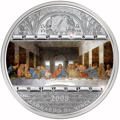 Cook Islands - 2008 - 20 Dollars - Leonardo da Vinci Last Supper ()