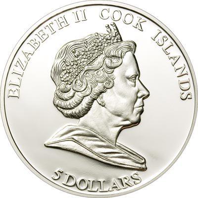 Cook Islands - 2009 - 5 Dollars - Great Battles & Commanders G. MEADE GETTYSBURG (PROOF)