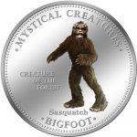 Cook Islands - 2009 - 1 Dollar - 7 Mystical Creatures BIG FOOT (PROOF)